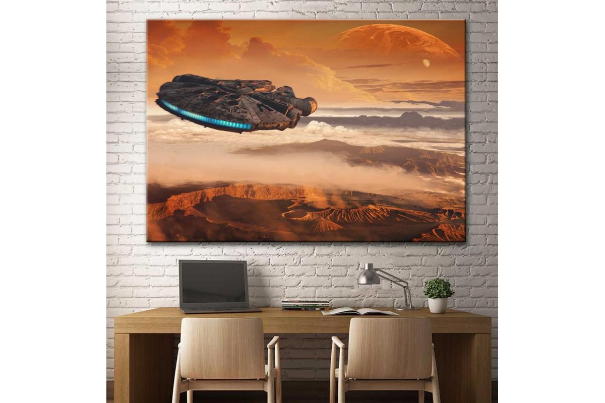 Star Wars Millennium Falcon Kanvas Tablo dsk-13
