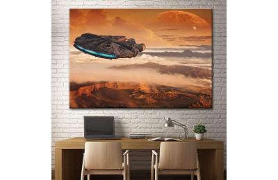 Star Wars Millennium Falcon Kanvas Tablo dsk-13