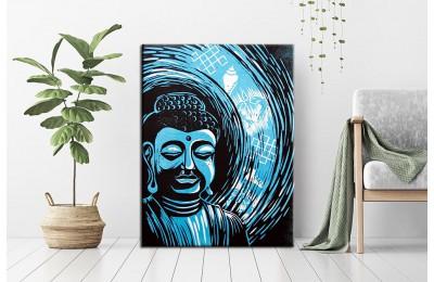 Budha Feng Shui Kanvas Tablo dsk-32