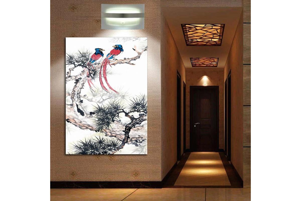 Kuşlar Feng Shui Kanvas Tablo fngs3