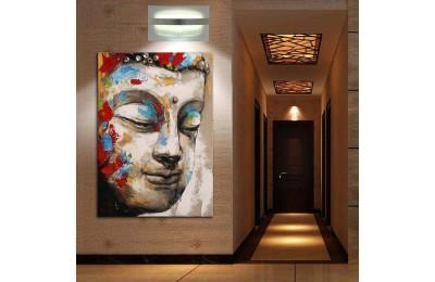Buddha Feng Shui Buda Kanvas Tablo fngs8