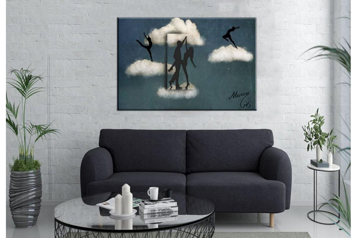 Merizza Iris Eserleri Kanvas Tablo mrz05