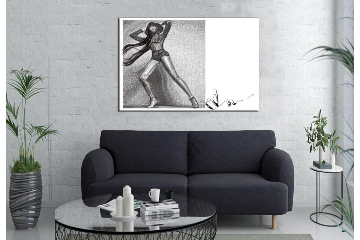 Merizza Iris Eserleri Kanvas Tablo mrz08