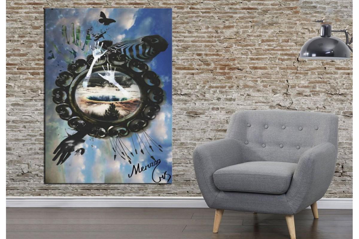 Merizza Iris Eserleri Kanvas Tablo mrz17