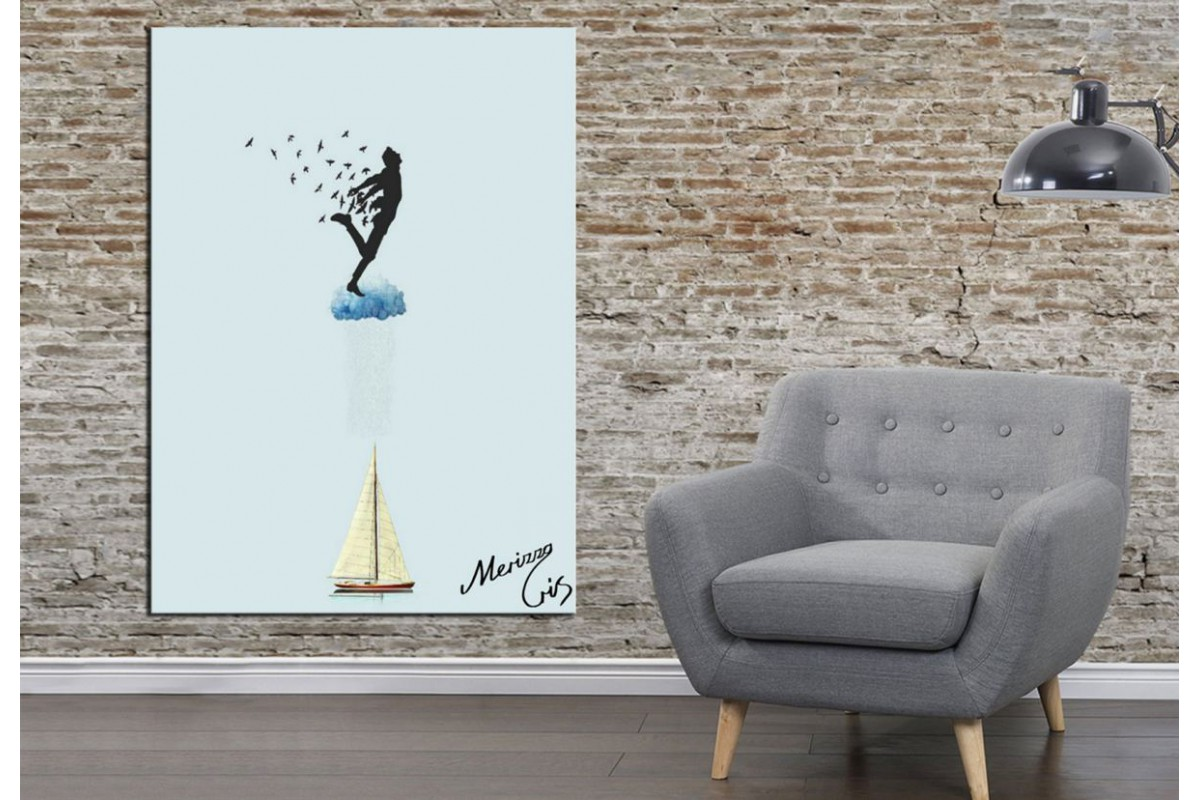 Merizza Iris Eserleri Kanvas Tablo mrz19