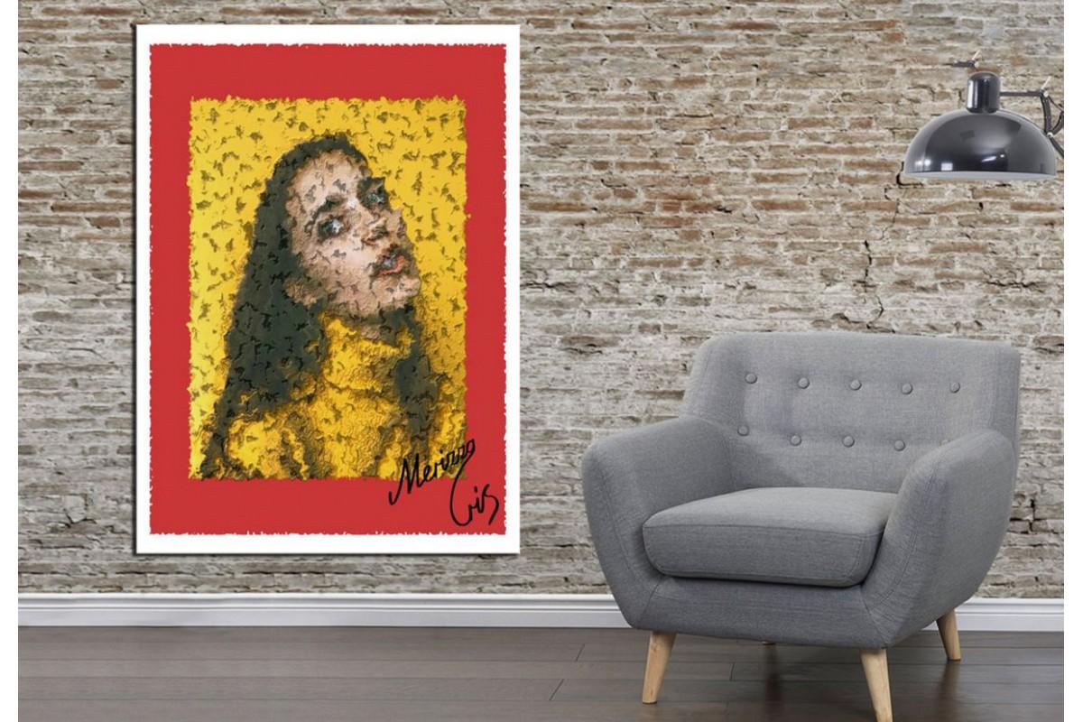 Merizza Iris Eserleri Kanvas Tablo mrz20
