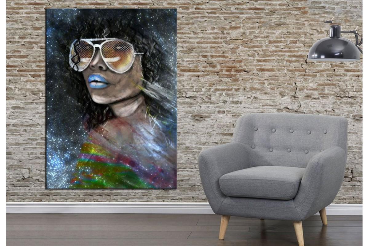 Merizza Iris Eserleri Kanvas Tablo mrz25