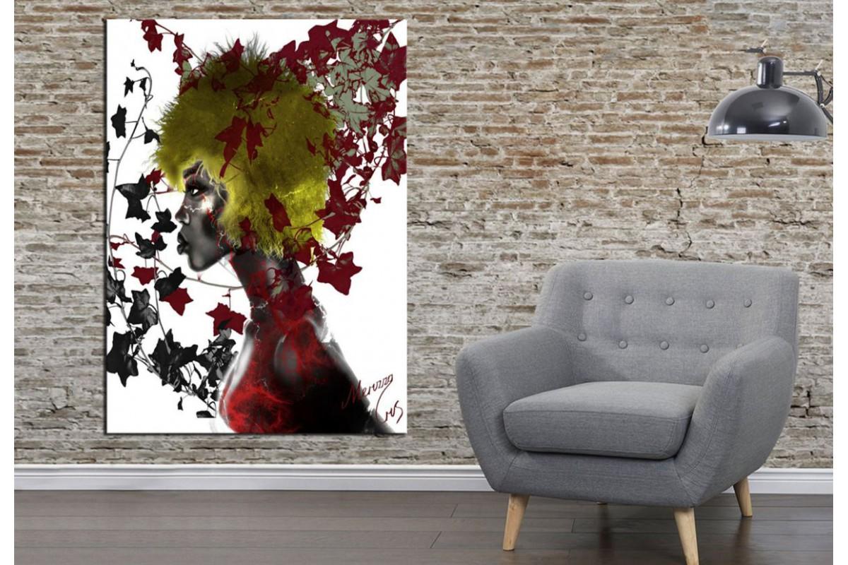 Merizza Iris Eserleri Kanvas Tablo mrz26