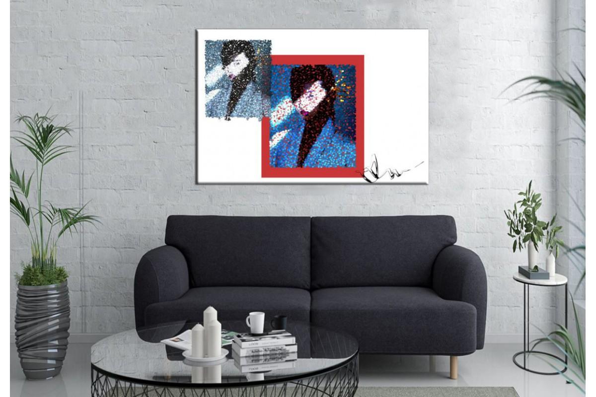 Merizza Iris Eserleri Kanvas Tablo mrz29