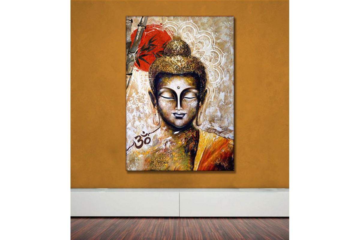 Feng Shui Buda Kanvas Tablo slm63